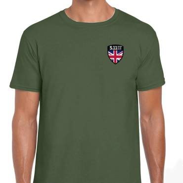 5.11 Shield S/S Tee Military Green