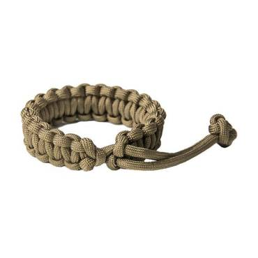 Survival Paracord Bracelet Mad Max Coyote Brown