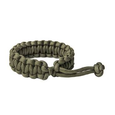 Survival Paracord  Bracelet Mad Max Olive Green