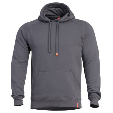 Pentagon Phaeton Hood Sweater Cinder Grey