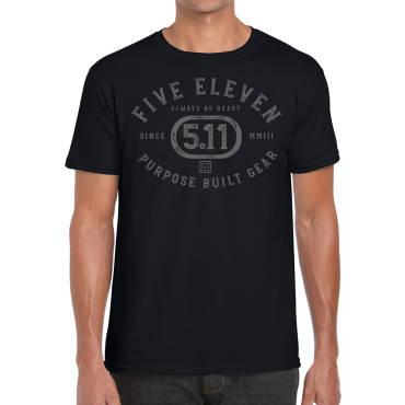 Purpose Crest S/S Tshirt Black