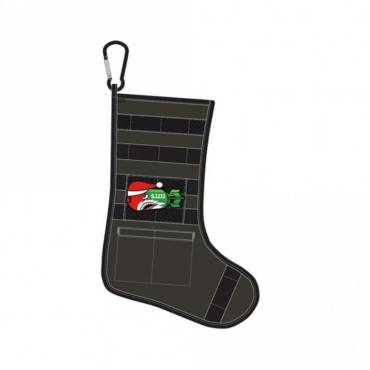 Tactical Holiday Stocking Saddle Brown