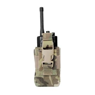 Warrior Adjustable Radio Pouch MultiCam