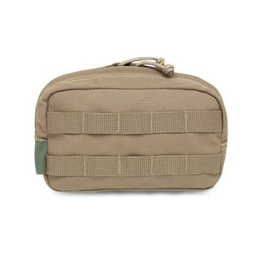 Warrior Medium Horizontal Molle Pouch Coyote Tan