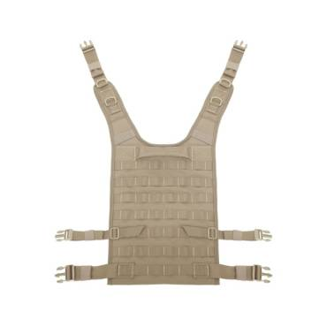 Warrior Back Panel Coyote Tan