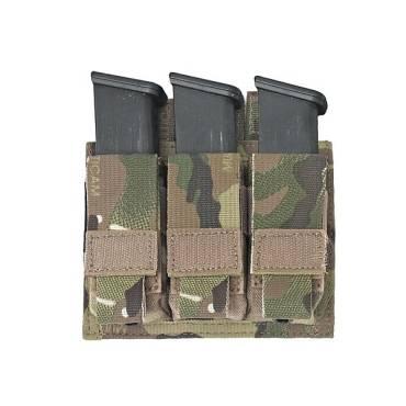 Warrior Triple DA 9mm Pistol MultiCam