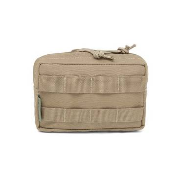 Warrior Small Horizontal MOLLE Coyote Tan