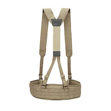 Warrior PLB With Slim Line Harness Coyote Tan