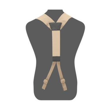 Warrior Slim Line Harness Coyote Tan
