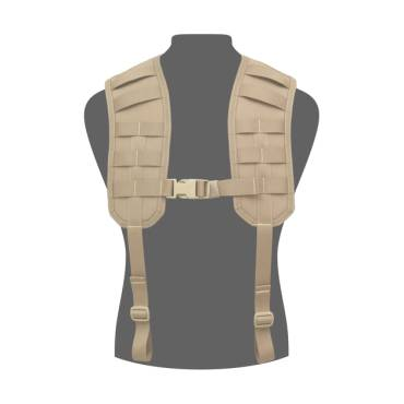 Warrior Molle Harness Coyote Tan