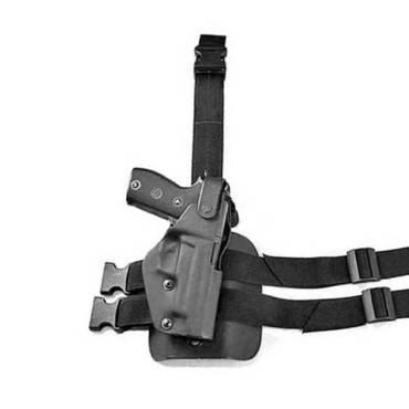 Kydex DRL Tactical Leg Rig - Black