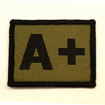 Warrior A+ Positive Velcro Patch - Olive