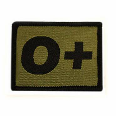 Warrior O + Positive Velcro Patch - Olive