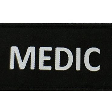 Warrior Medic Patch Black