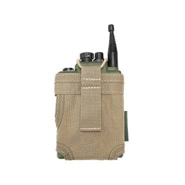 Warrior Personal Radio Pouch Coyote Tan