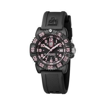 Luminox Navy SEAL Colormark Dive Watch PINK