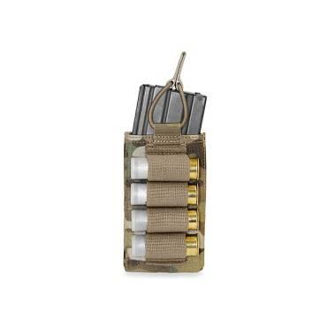 Warrior Single Open 5.56mm with Shotgun Strip MultiCam