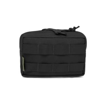 Warrior Small Horizontal MOLLE Black