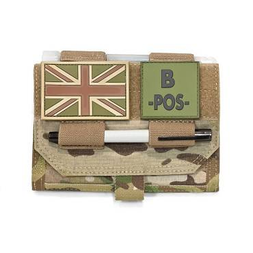 Warrior Forward Opening Admin Pouch MultiCam
