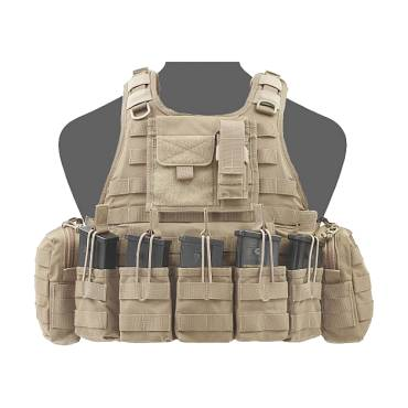 Warrior RICAS Compact G36 Coyote Tan