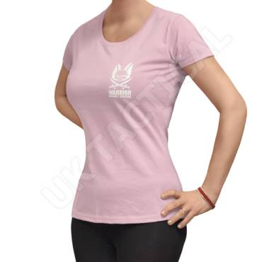 Warrior Ladies T-Shirt Light Pink