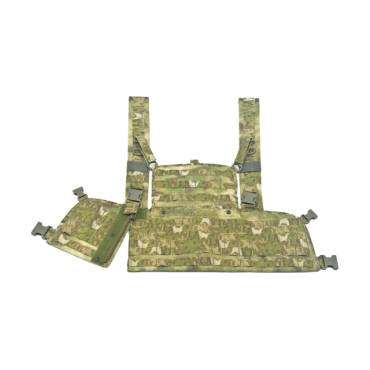 Warrior 901 Chest Rig Base With Zip A-TACS FG