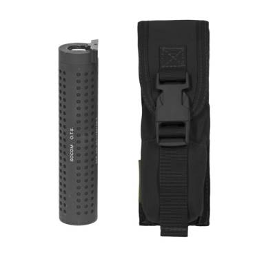 Warrior Large Torch/Suppressor Pouch Black