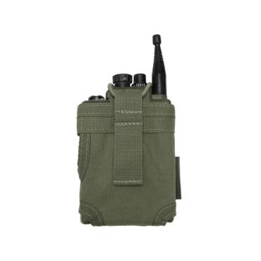 Warrior Personal Radio Pouch Olive Drab