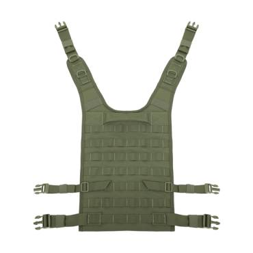 Warrior Back Panel Olive Drab