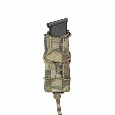 Warrior Single Quick Mag for 9mm Pistol MultiCam
