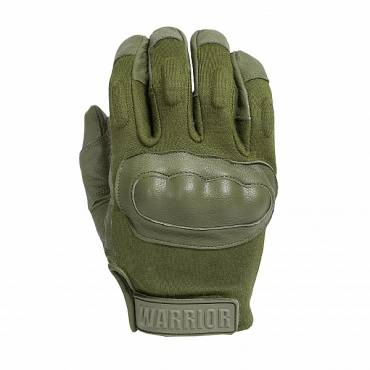 Warrior Enforcer Hard Knuckle Glove Olive Drab