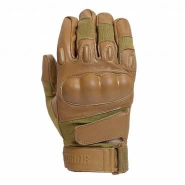 Warrior Firestorm Hard Knuckle Glove Coyote Tan