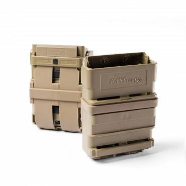 ITW FastMag 5.56mm Magazine Pouch Gen 3 For Belts and Rigs Tan