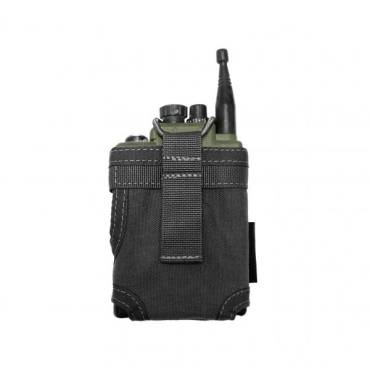 Warrior Personal Radio Pouch Black