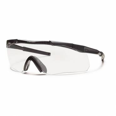 Smiths Aegis Arc Glasses Black Frame Clear Lens, Grey Spare
