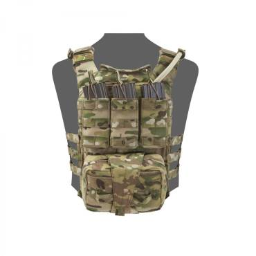 Warrior Back Panel with MED Pouch and Triple M4 5.56 MultiCam