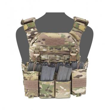 Warrior Recon Plate Carrier With Pathfinder Chest Rig Combo MultiCam
