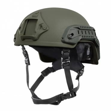 Nexus SF M3 Helmet with Rails, NVG Shroud, BOA Dialler OD Green, Size Medium