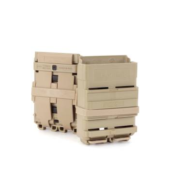 ITW FastMag 5.56mm Magazine Pouch Gen 4 For Belts and Rigs Tan
