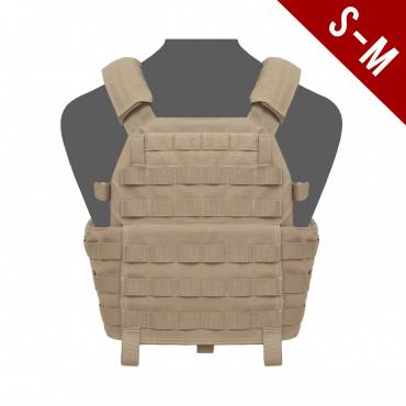 Warrior DCS Plate Carrier Base small/MEDIUM Coyote Tan