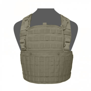 Warrior 901 Chest Rig Base With Zip Ranger Green