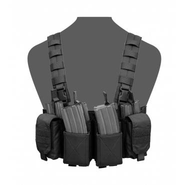 Warrior Pathfinder Chest Rig Black