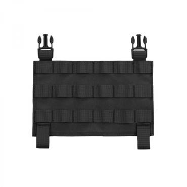 Warrior MOLLE Front Panel for Recon Plate Carrie Black