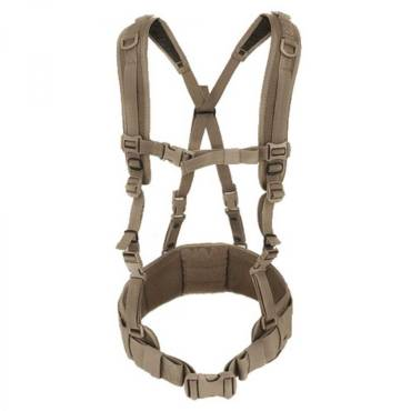 Warrior PLB Load Bearing Harness Combo Coyote Tan