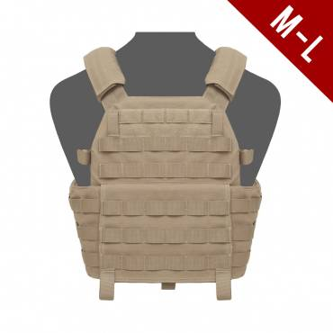 Warrior DCS Plate Carrier Base medium/LARGE Coyote Tan