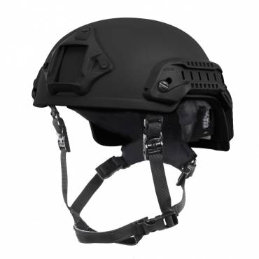 Nexus SF M3 Helmet with Rails, NVG Shroud, BOA Dialler Black, Size Large