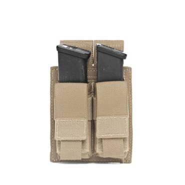 Warrior Double DA 9mm Pistol Coyote Tan