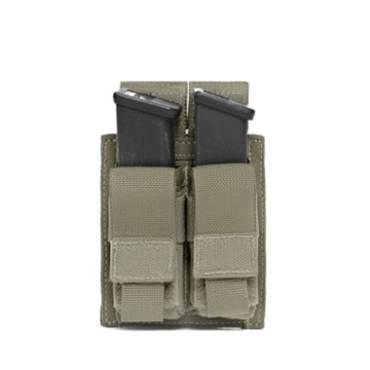 Warrior Double DA 9mm Pistol Ranger Green