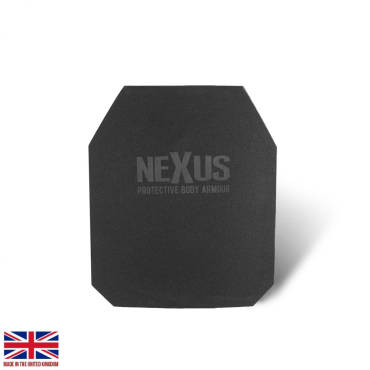 Nexus 1.3kg Level 3+ STAND ALONE Single Curve Dyneema Rear Plates