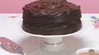 Rachel allens chocolate cake good food channel easy chocolate cake forumfinder Choice Image